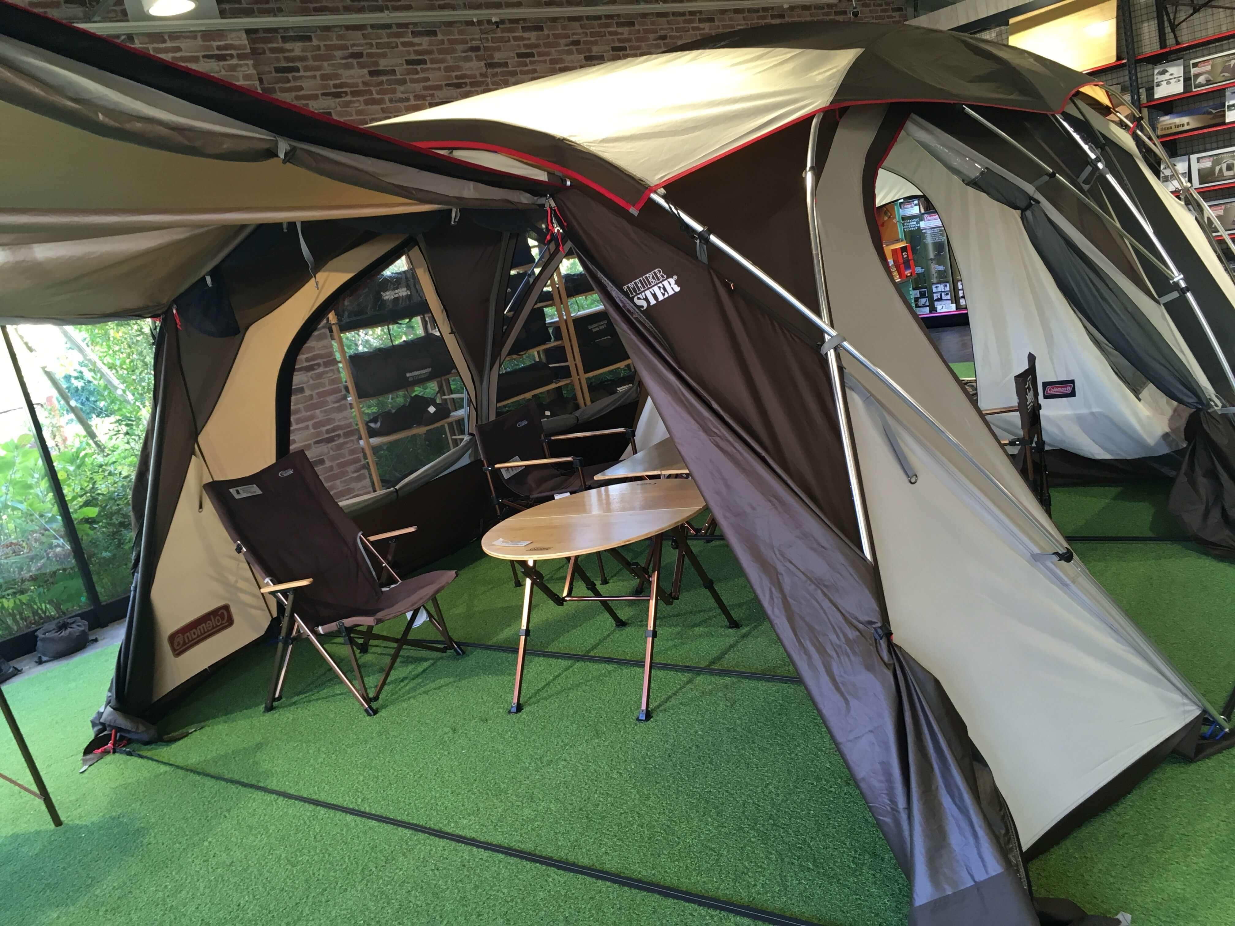 コールマン テント2