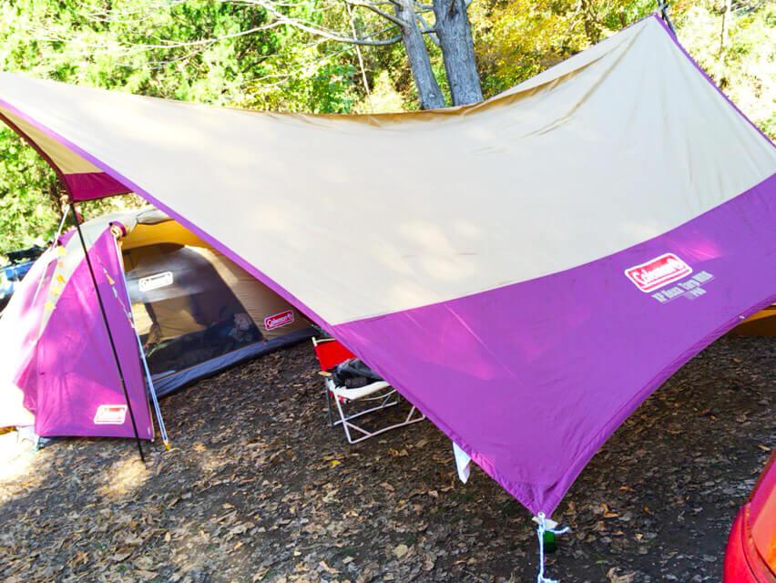 キャンプ用品 タープ
