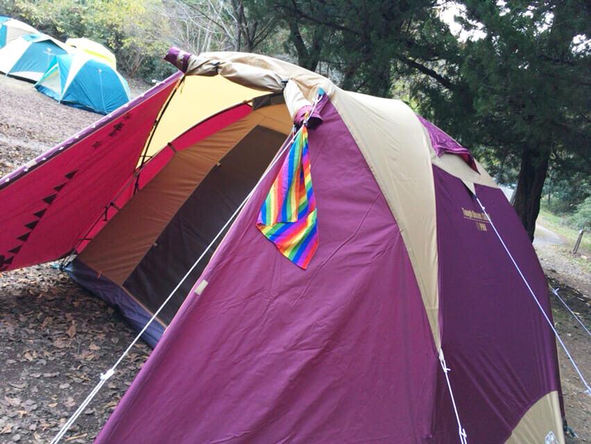 キャンプ 失敗 撤収