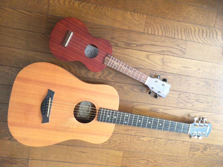 ギター挫折 ウクレレ