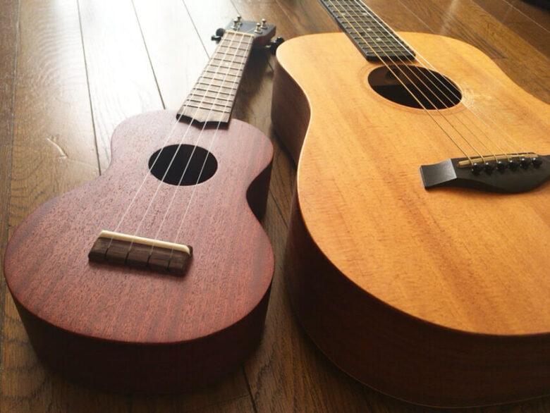ギターとウクレレの違い
