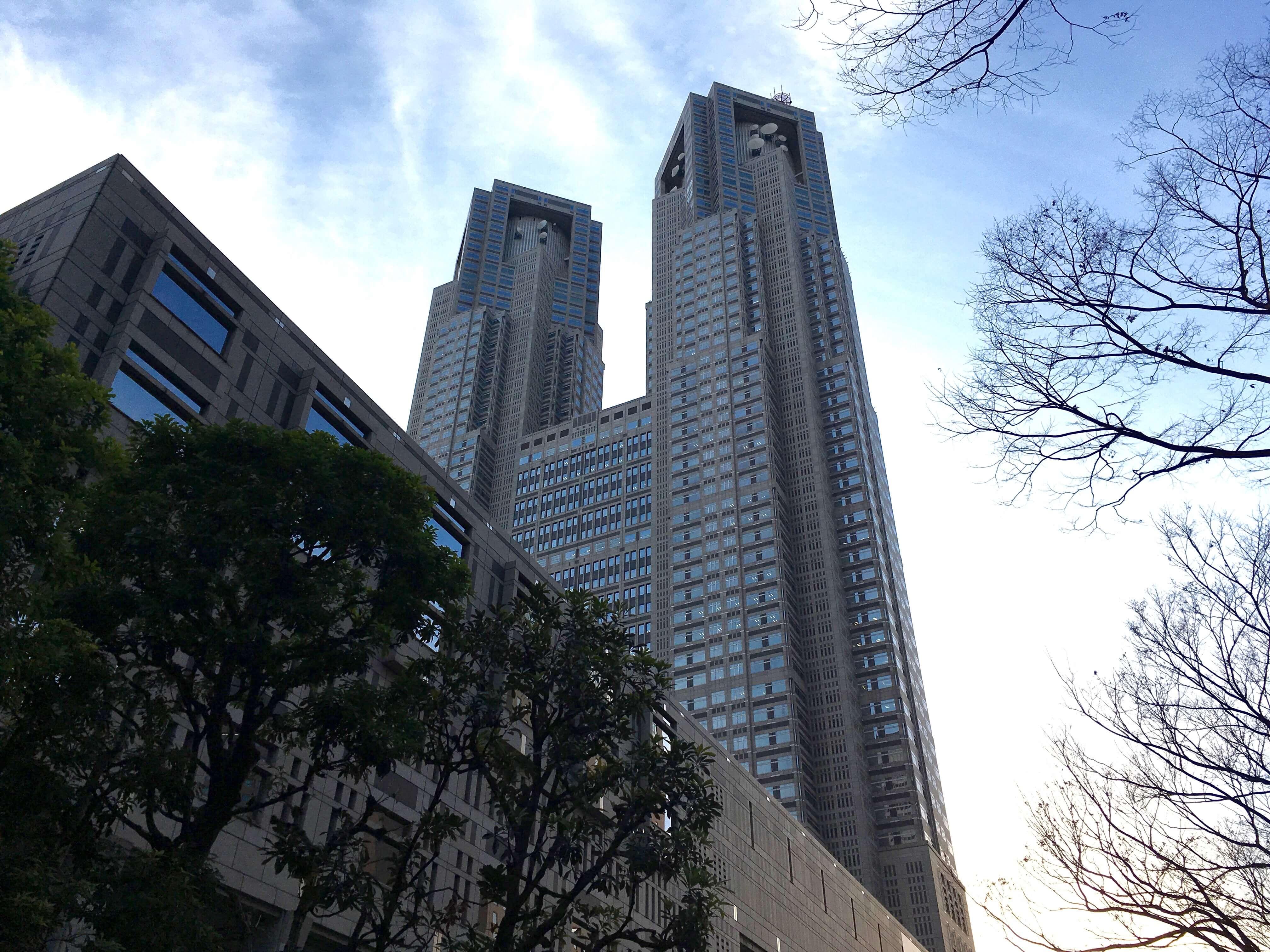 新宿 パスポート 都庁